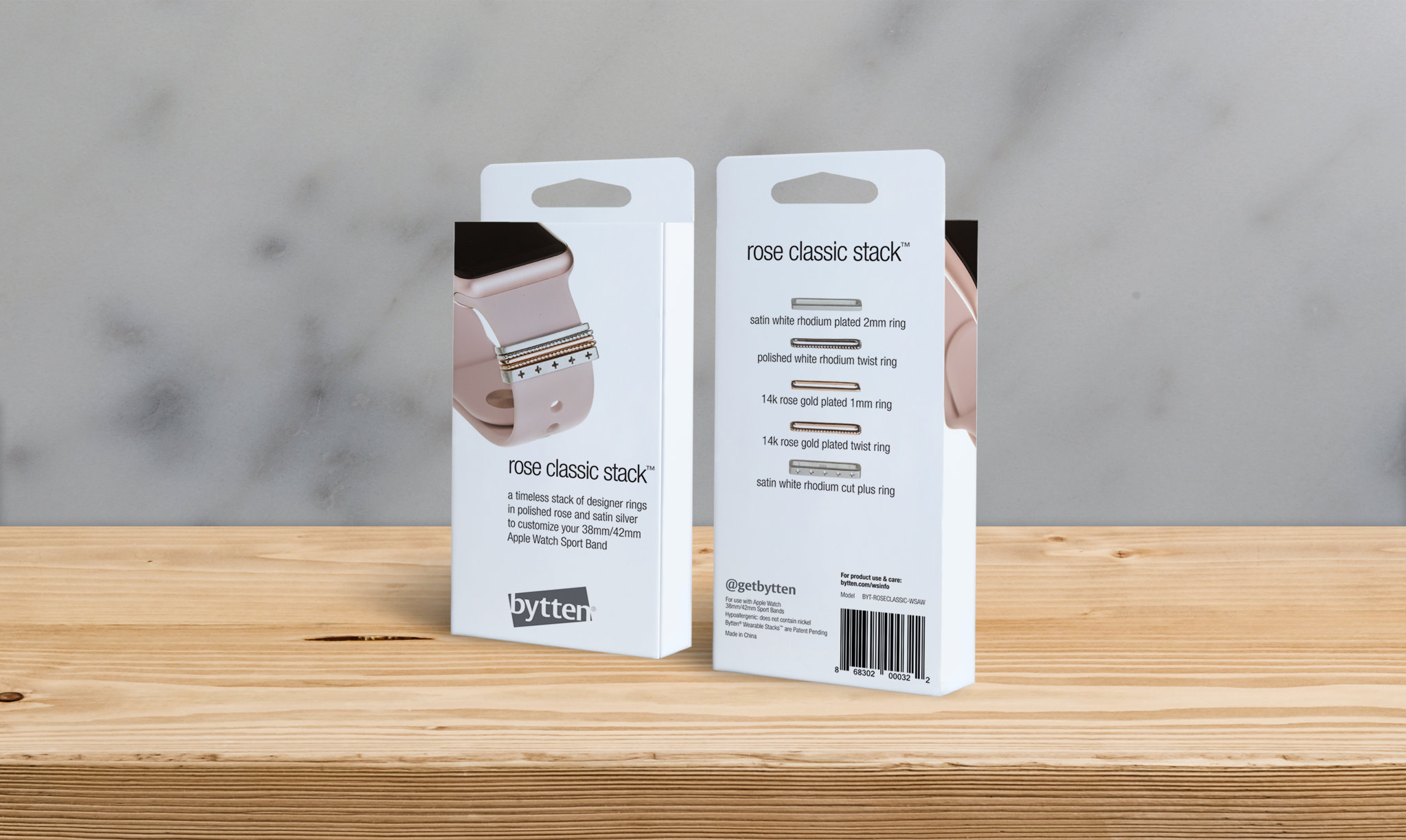 Bytten Apple Watch Band Packaging