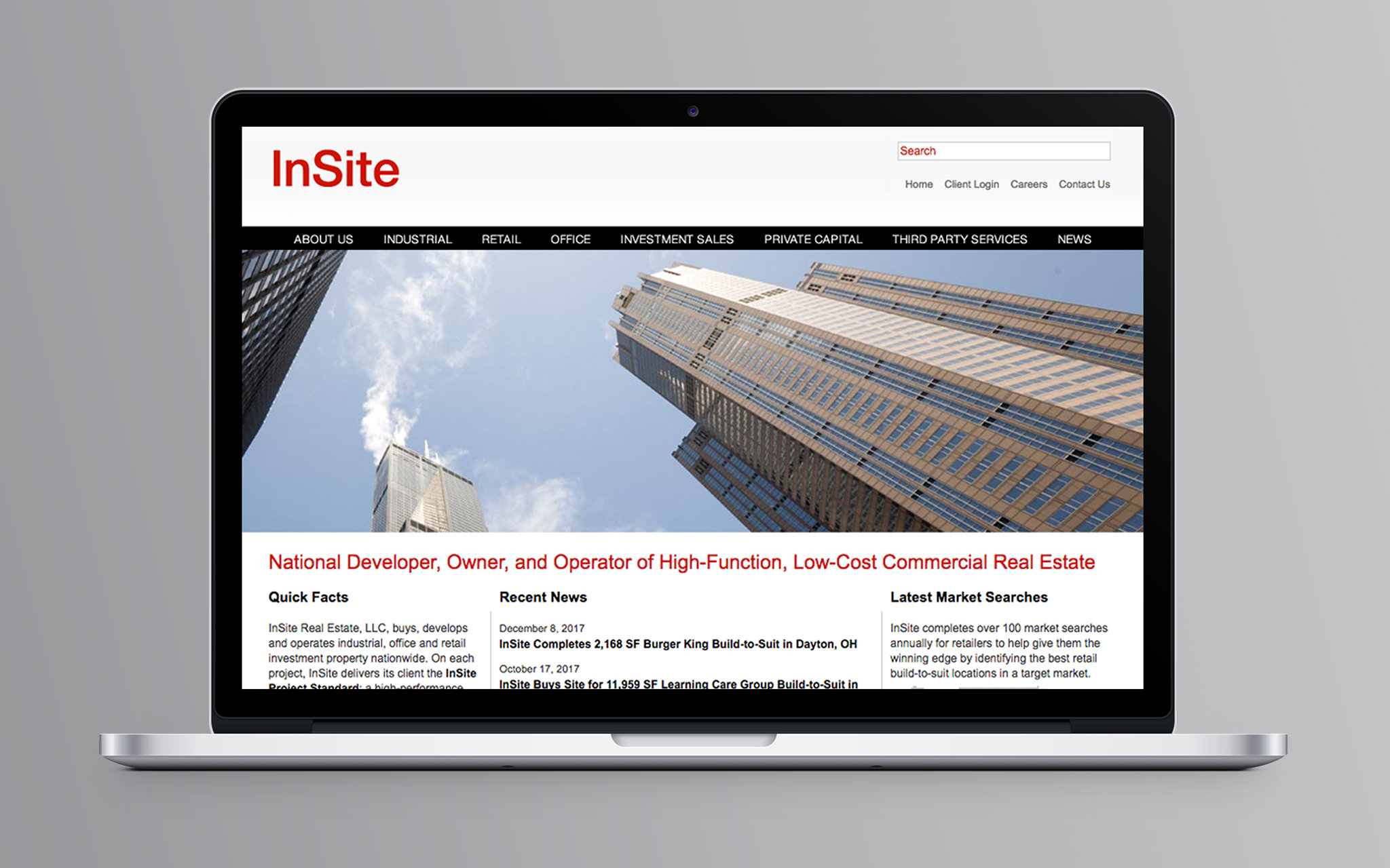 InSite Real Estate Website