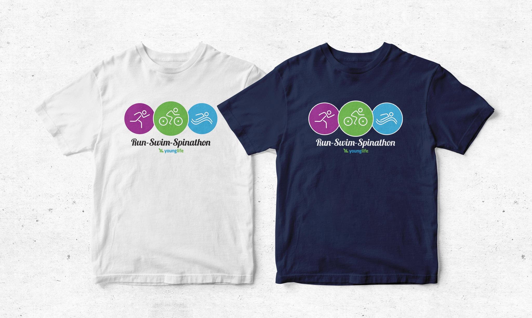 Run Swim Spinathon T-Shirt