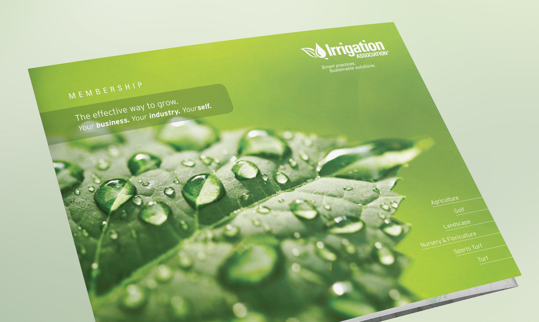 Irrigation Association Membership Brochure