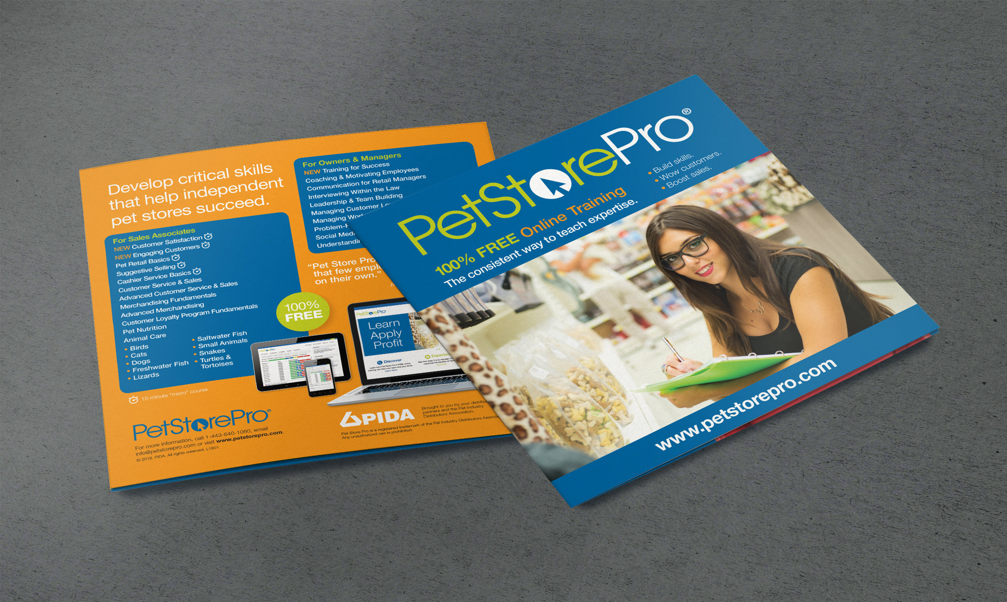 Pet Industry Distributors Association Pet Store Pro Brochure