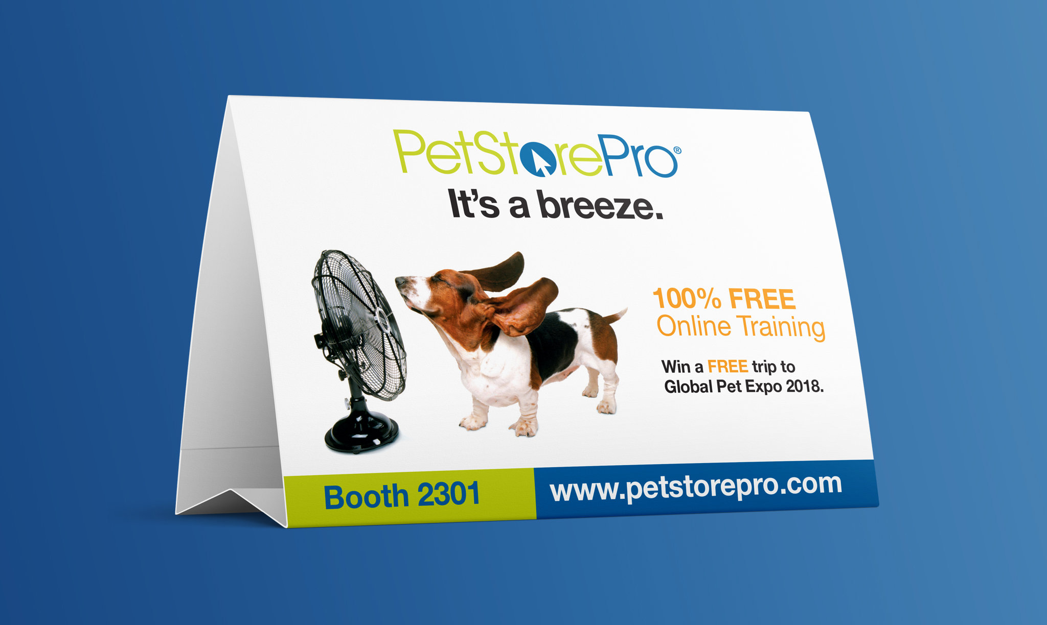 Pet Industry Distributors Association Table Tent