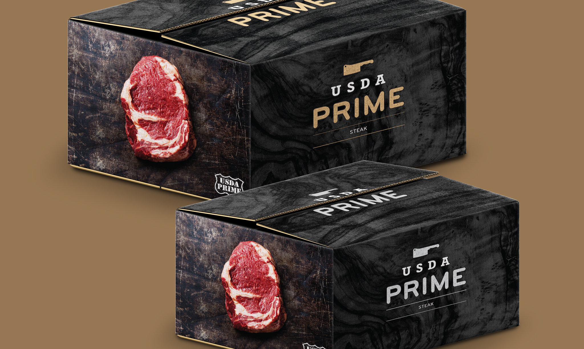 Stampede Meat USDA Prime Packaging