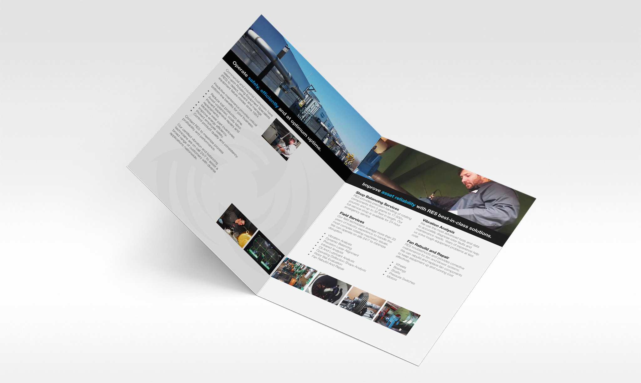 Rotating Equipment Specialists Brochure Inside