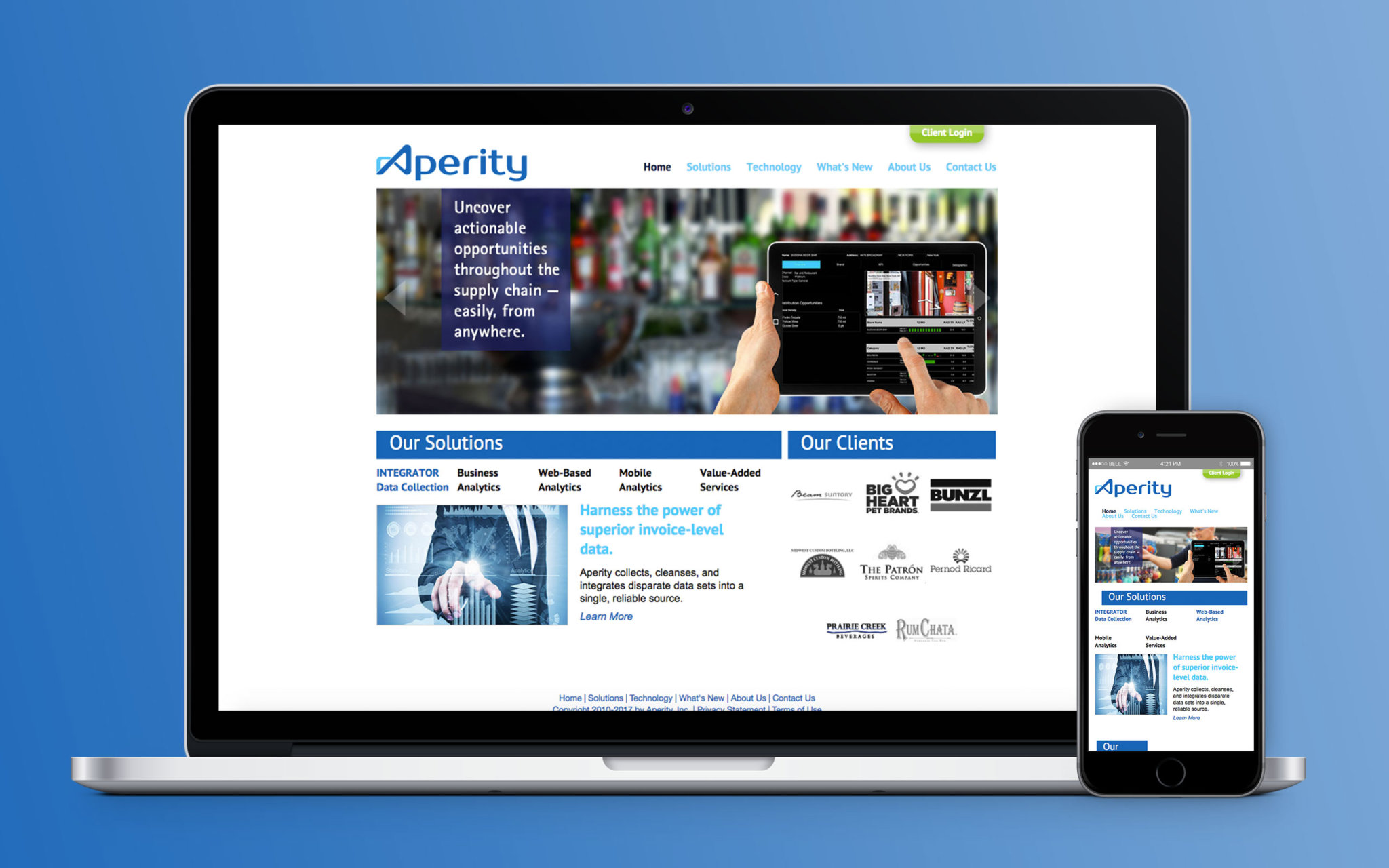 Aperity Website Home