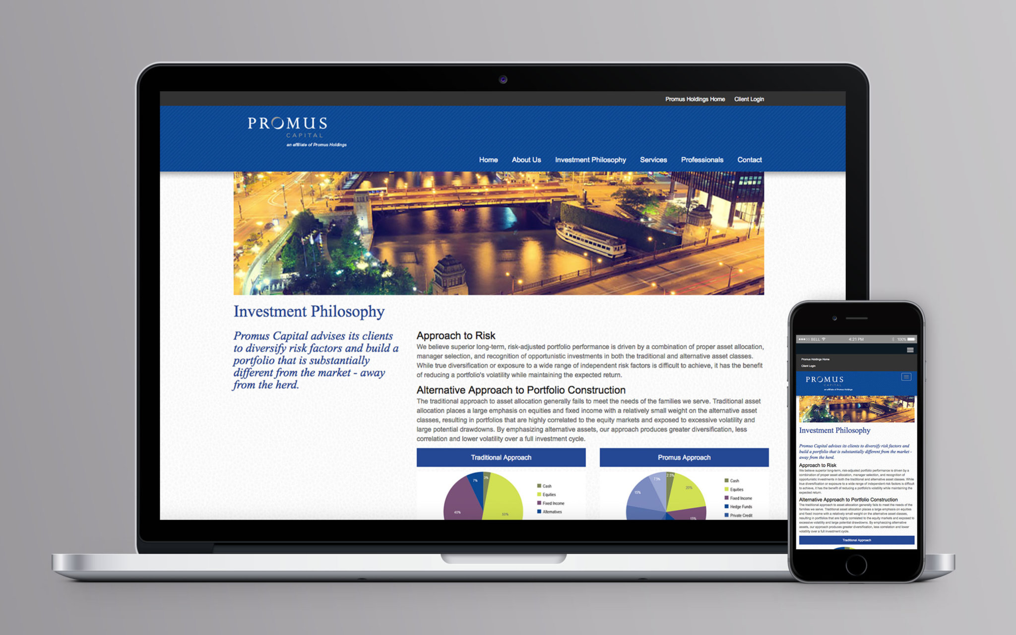 Promus Capital Website Inside