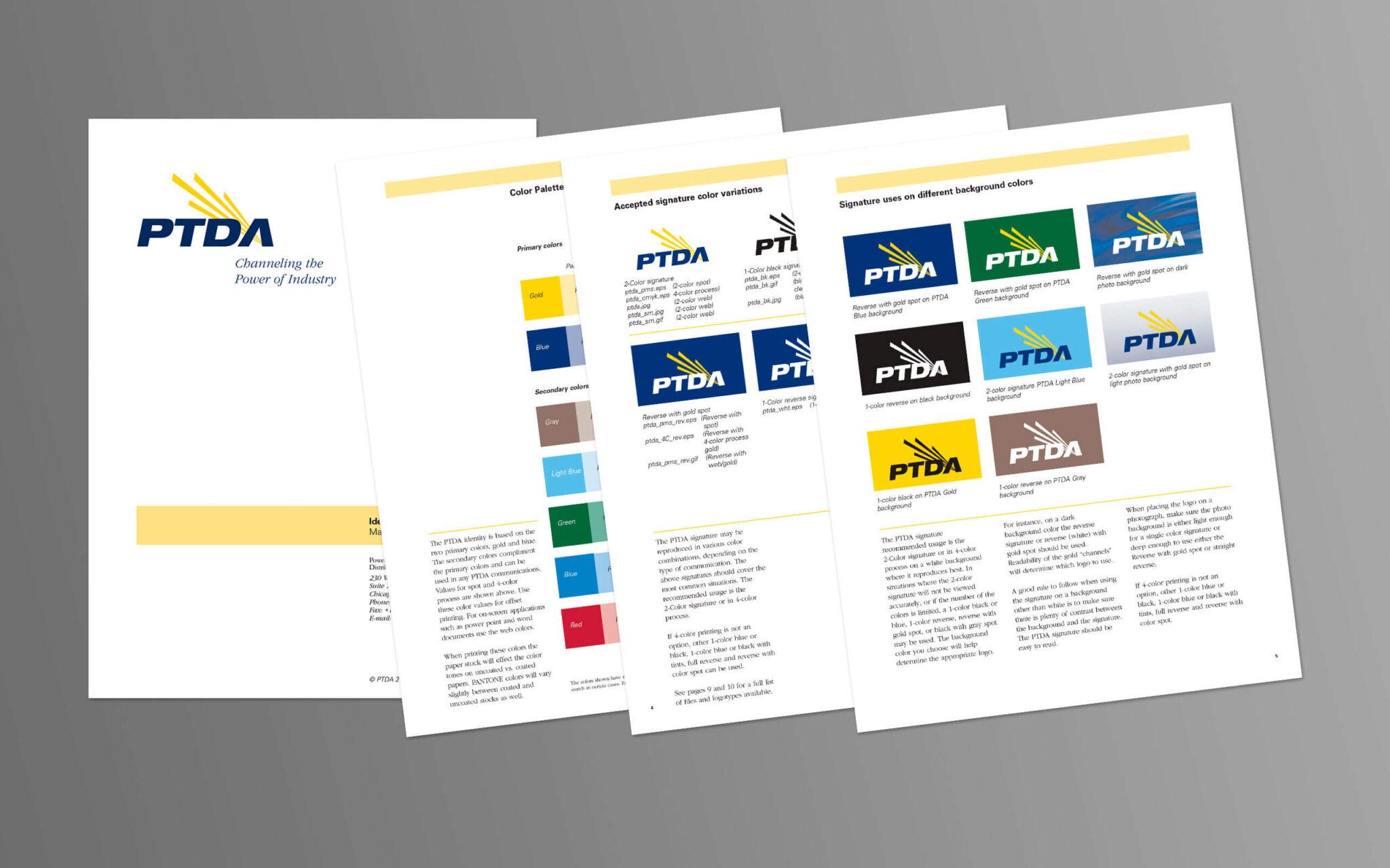 PTDA Brand Guildlines