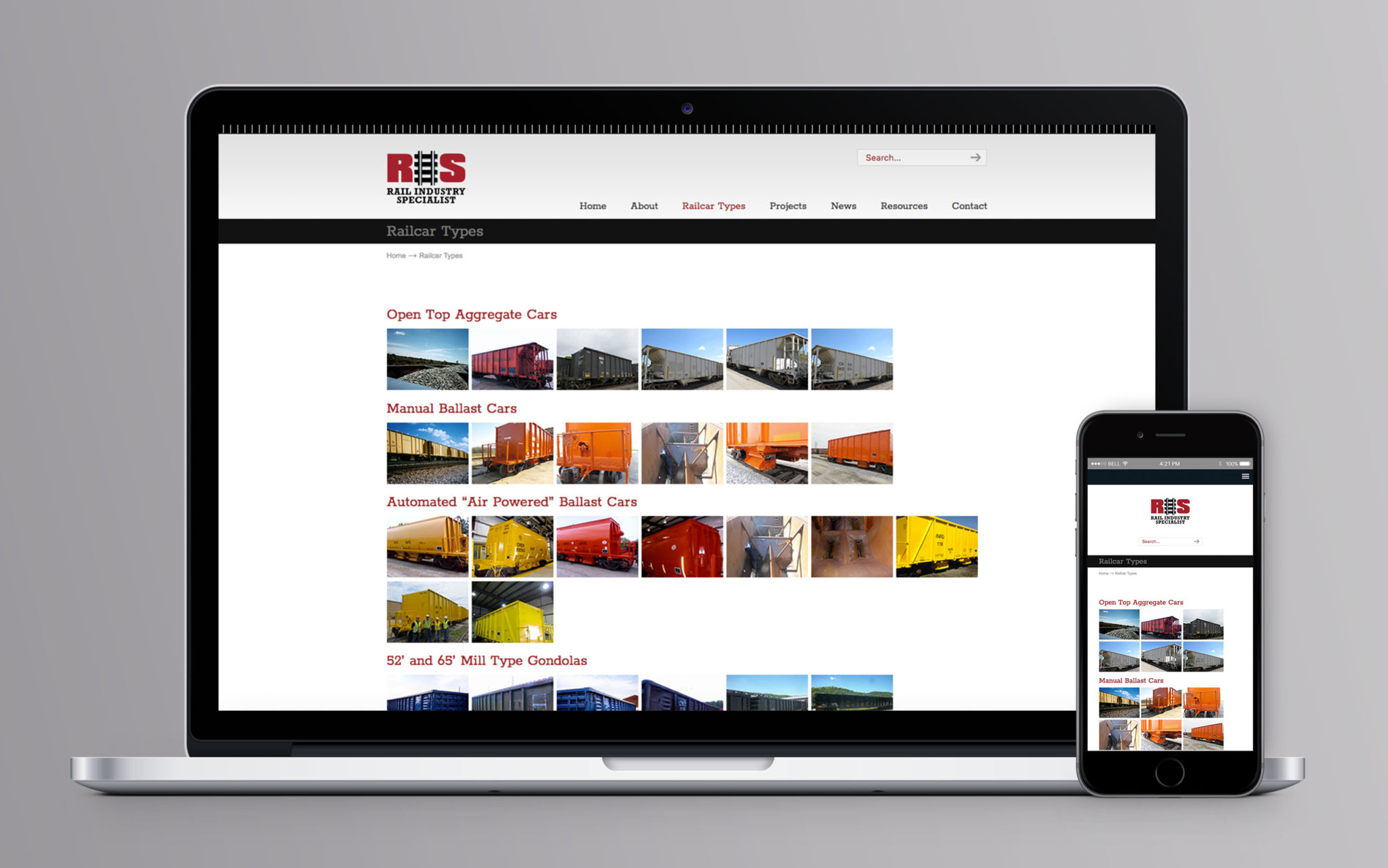 Rail Industry Specialist Website Railcar Types