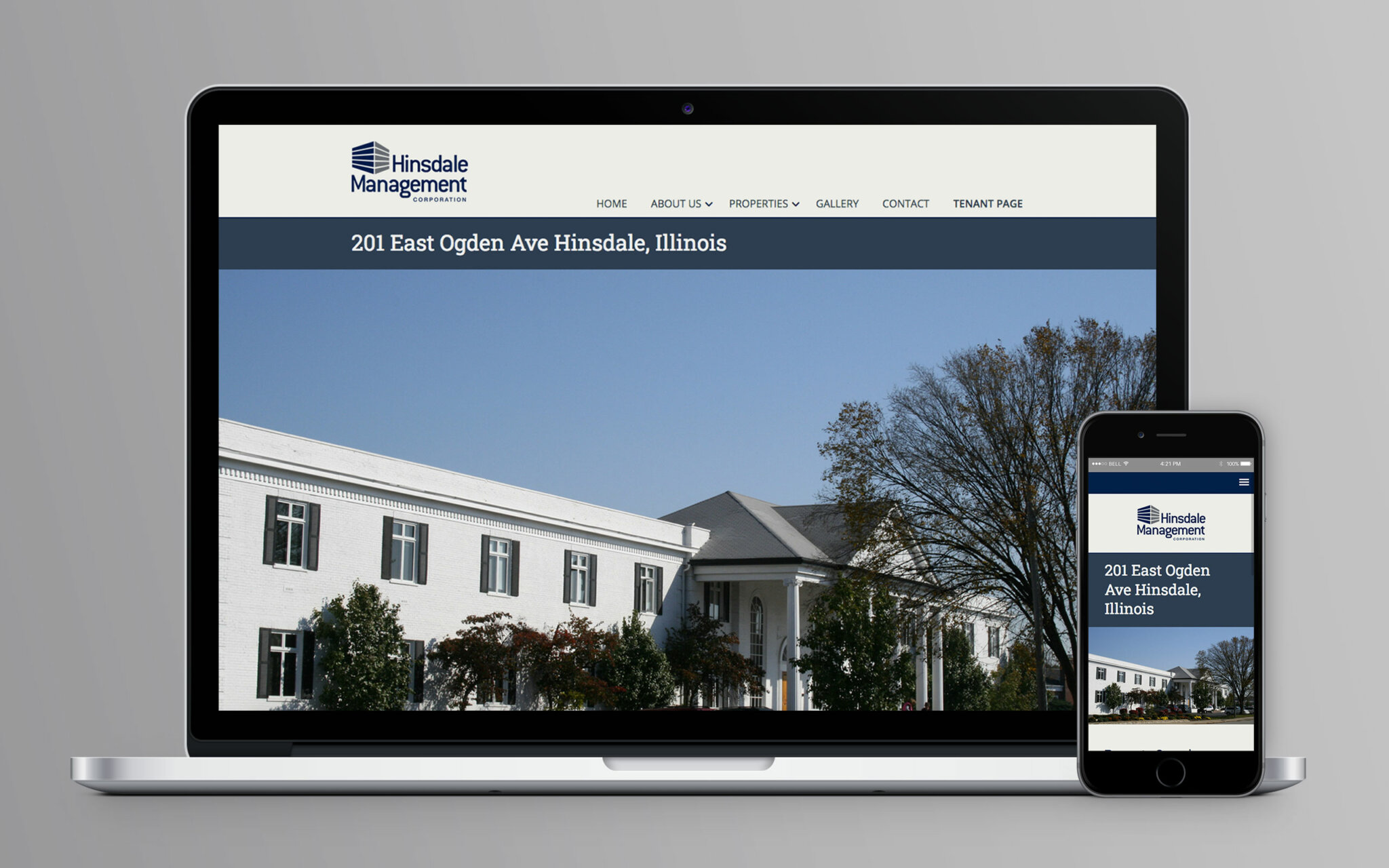 Hinsdale Management Corporation Website Properties